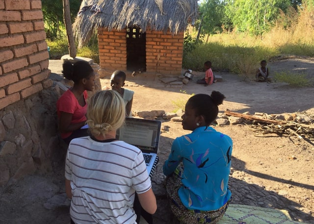 University of Livingstonia (Malawi) Interns Assist Determined to Develop 4