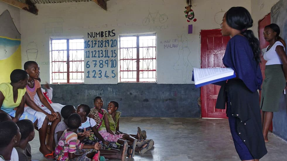 Determined to Develop Malawi Sponsored Girls